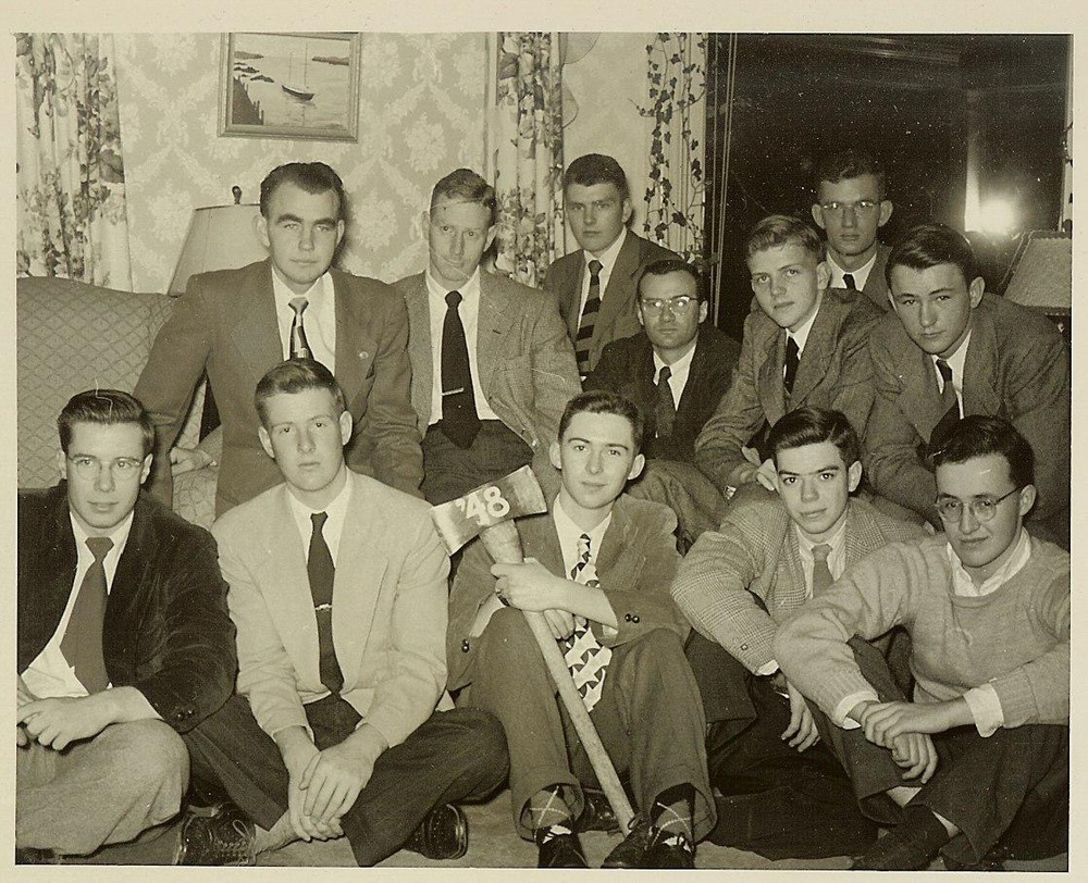 First Reunion 1948 at Roy Bailey's