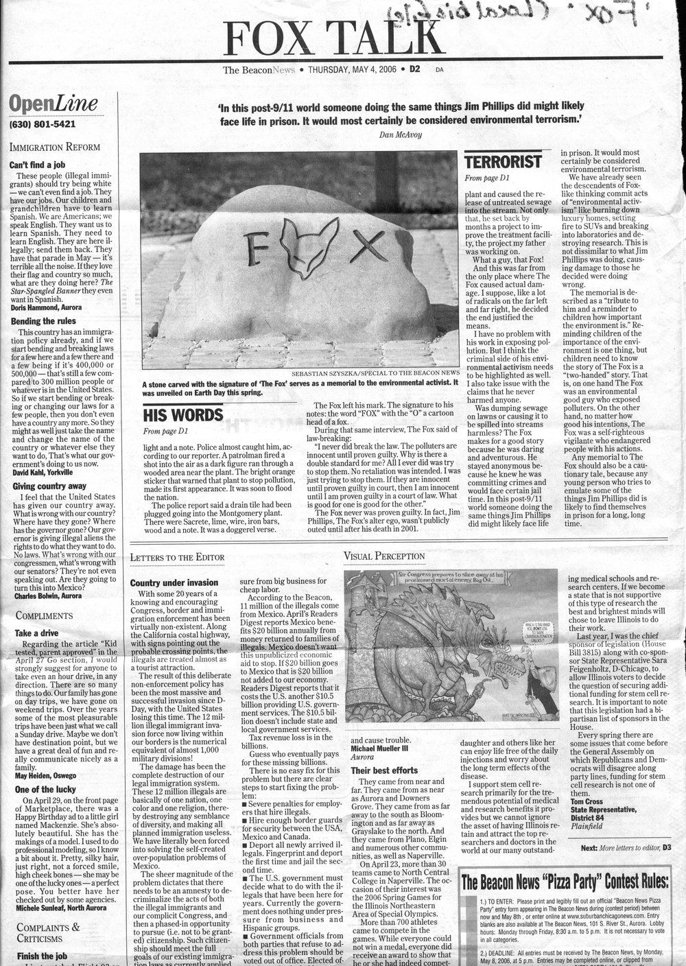 The beacon News | May 4th, 2006 | D2