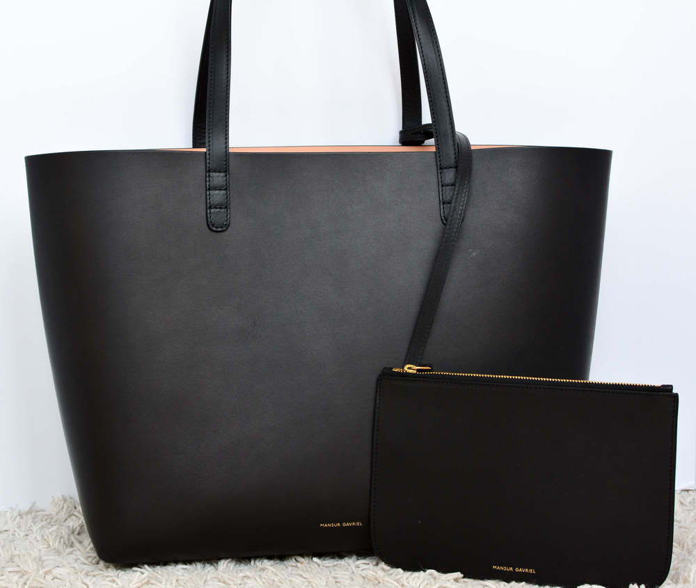 Mansur Gavriel Large Tote Review — Temporary Housewifey
