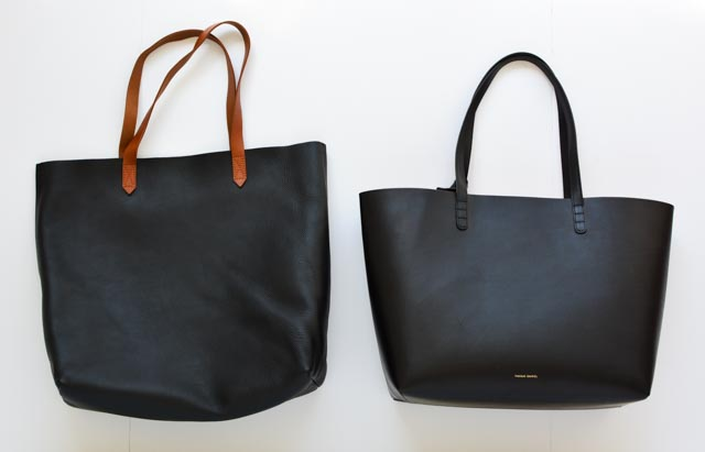Madewell Transport Tote vs. Cuyana Classic Leather Tote vs. Mansur Gavriel  Tote vs. Everlane s Petra and Day Market Tote  Updated February 2019  ... 9a957a684e