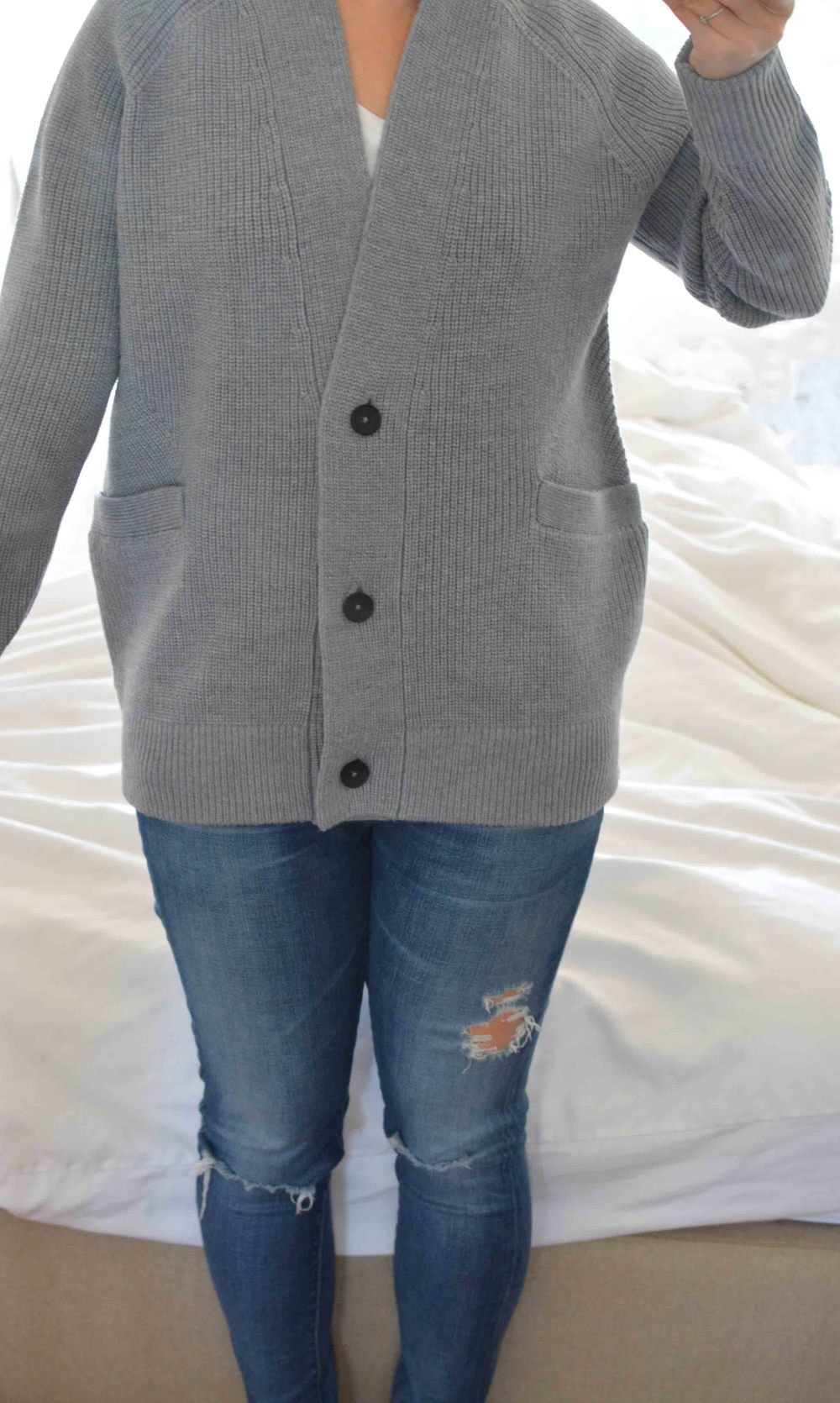Everlane Chunky Wool Knit Sweater Review — Temporary Housewifey