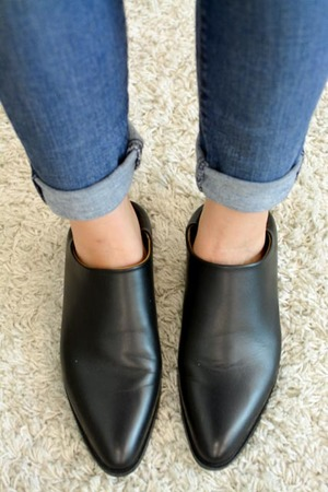 Everlane Leather Pointed-Toe Mules w/ Tags countdown package cheap online visit for sale for nice for sale buy cheap wiki jrzGQOAKsC