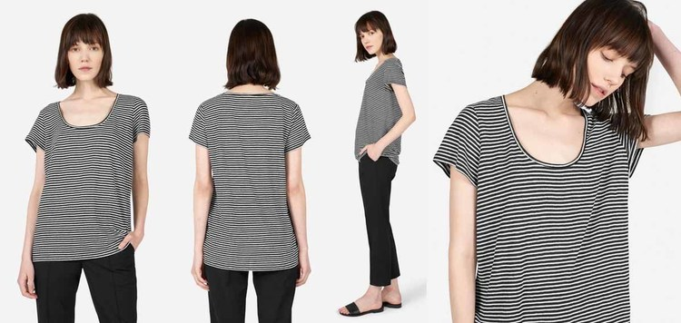 12dc8466403 Everlane Linen Scoop Neck Tee Review — Temporary-House Wifey