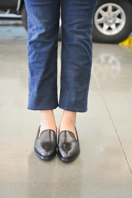 12e87cffaff ... possibly the most uncomfortable loafer-type shoe made by Everlane to  date (ok well I m just comparing it to the modern loafer and the modern  point).