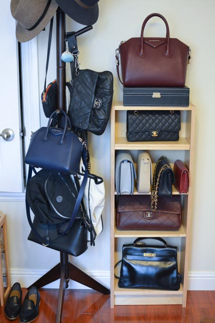 This was my half of my bag collection before I moved into an Airstream