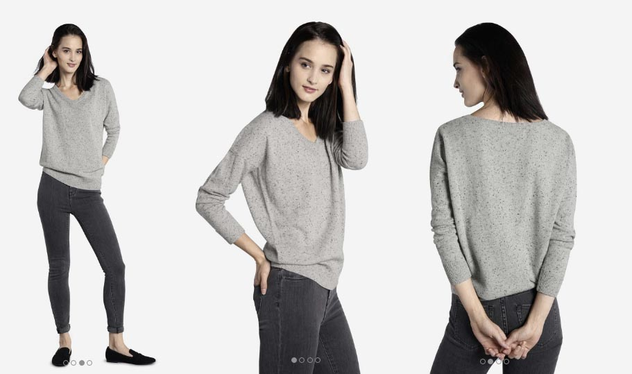 Grana Review Donegal Cashmere Boyfriend V-neck Sweater — Temporary ...