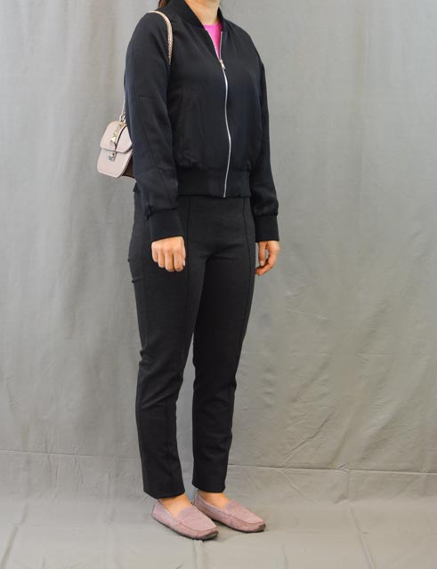 Grana review silk bomber temporary housewifey for Bomber bag review