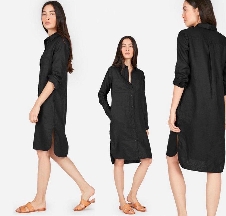 c96e207b422 Everlane Linen Shirt Dress Review — Temporary-House Wifey