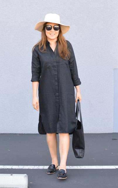 Everlane linen shirt dress shirtdress review (1 of 2).jpg