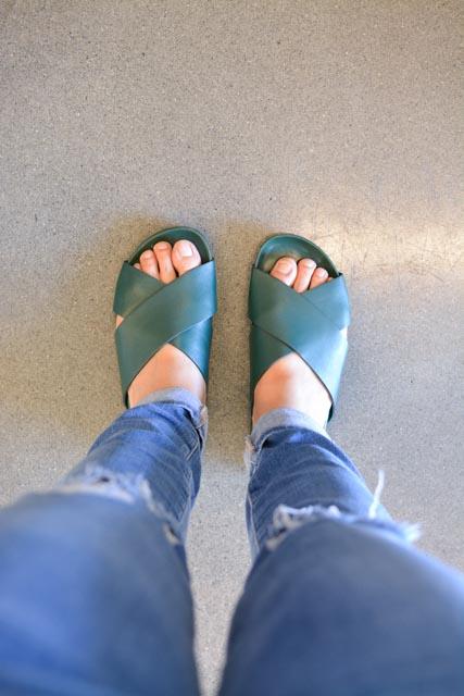 e48b334facb3 Everlane Form Crossover Sandal and Form Slide Sandal Review ...