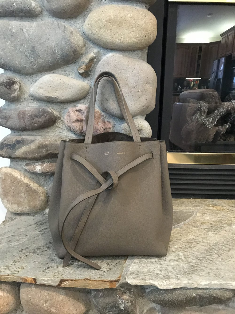 celine cabas tote review