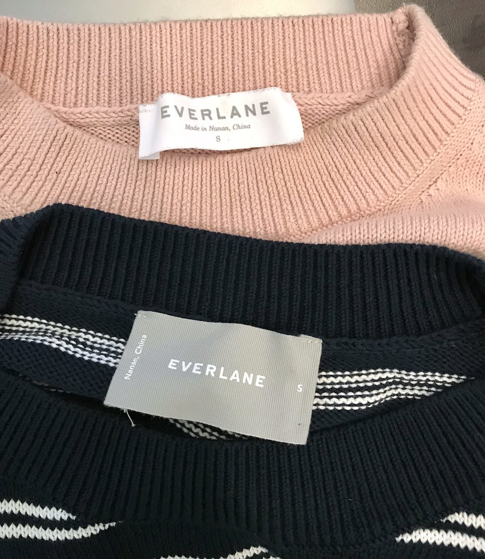 everlane cotton sweater review
