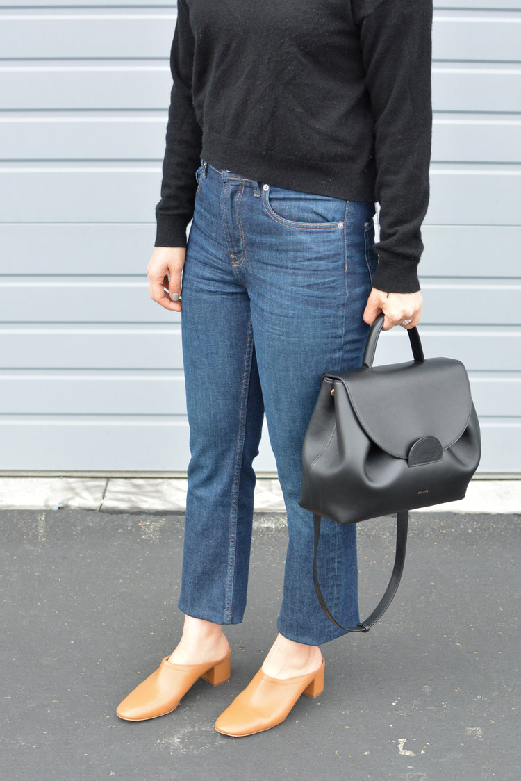 4ec9bbad4a4 Everlane Review The Day Heel Mule — Temporary-House Wifey