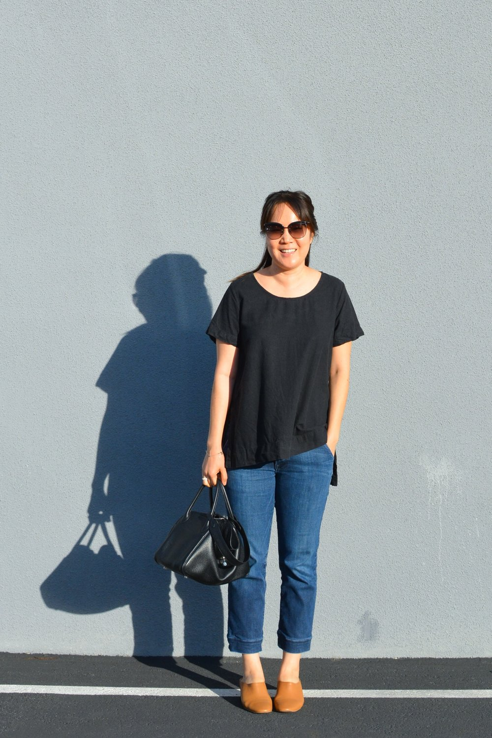 Jamie and the Jones Review The Stable Basic Split Tee Top  (1 of 6)-min.jpg