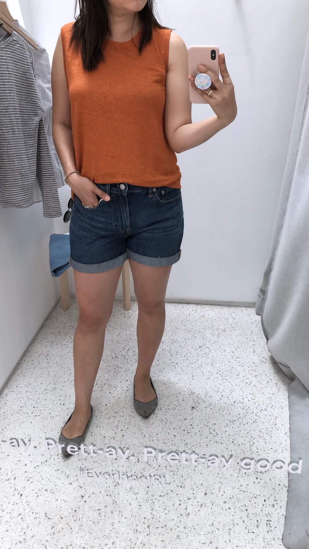 Everlane Review the denim short