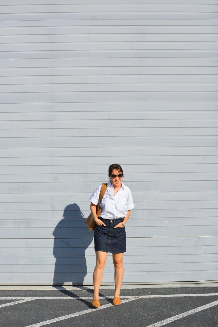 fef7e26d159 Everlane Review  The Cotton Short Sleeve Popover Shirt — Temporary ...