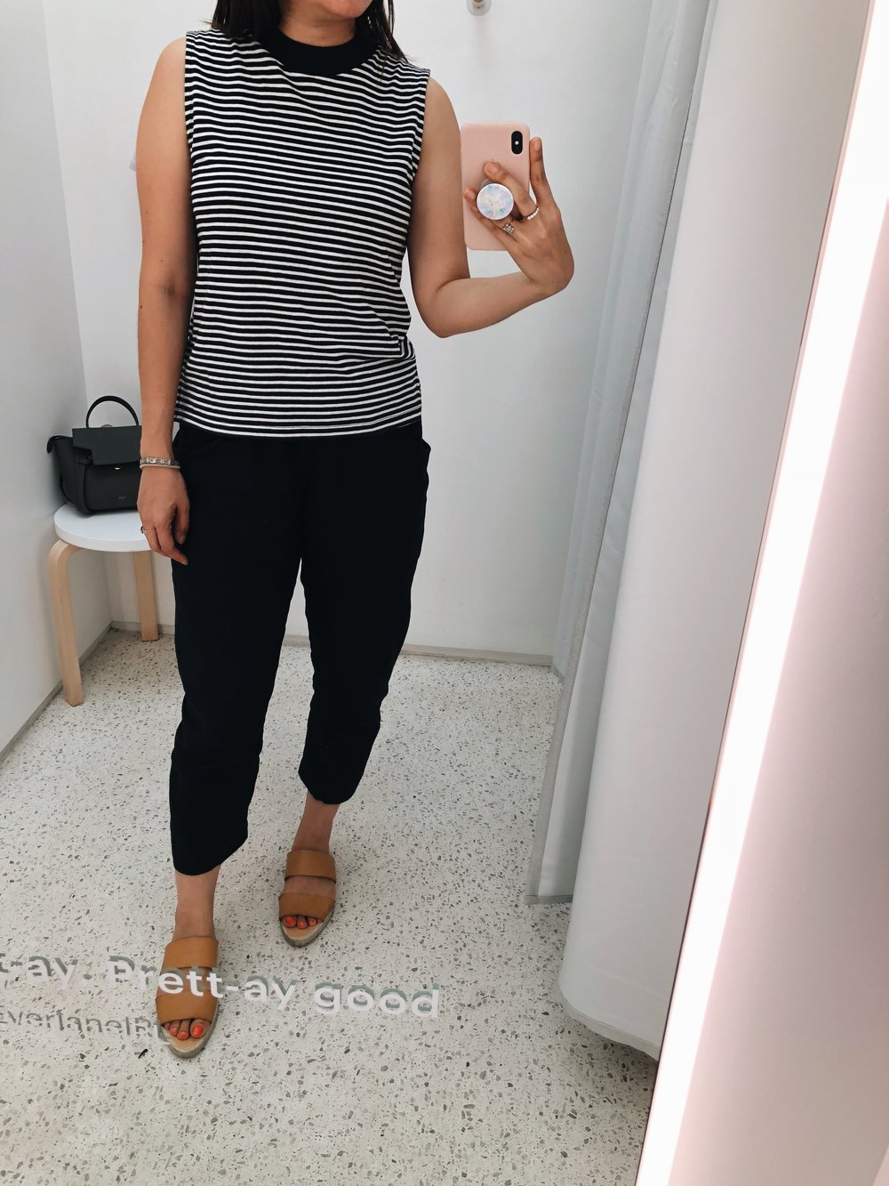 Everlane mockneck muscle tank review