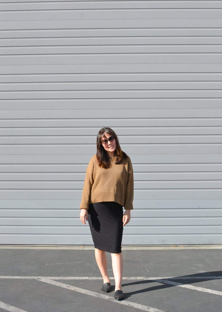 19bb029223 Everlane Review The Soft Cotton Square Crew — Temporary-House Wifey