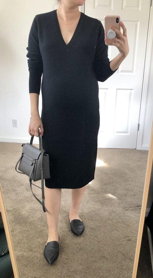 5e78d18a33c Everlane Review Cashmere Sweater Dress