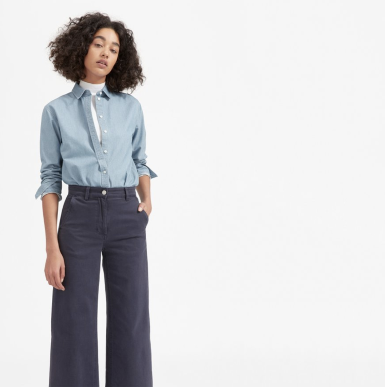 ed082d4e283 Ethical Chambray Shirt Round-up — Temporary-House Wifey