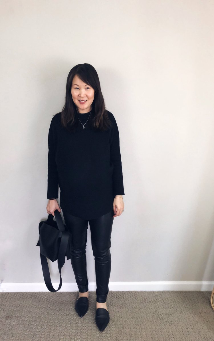 a5f369bdce5815 Unsponsored Vetta Review: The Oversized Sweater — Temporary-House Wifey