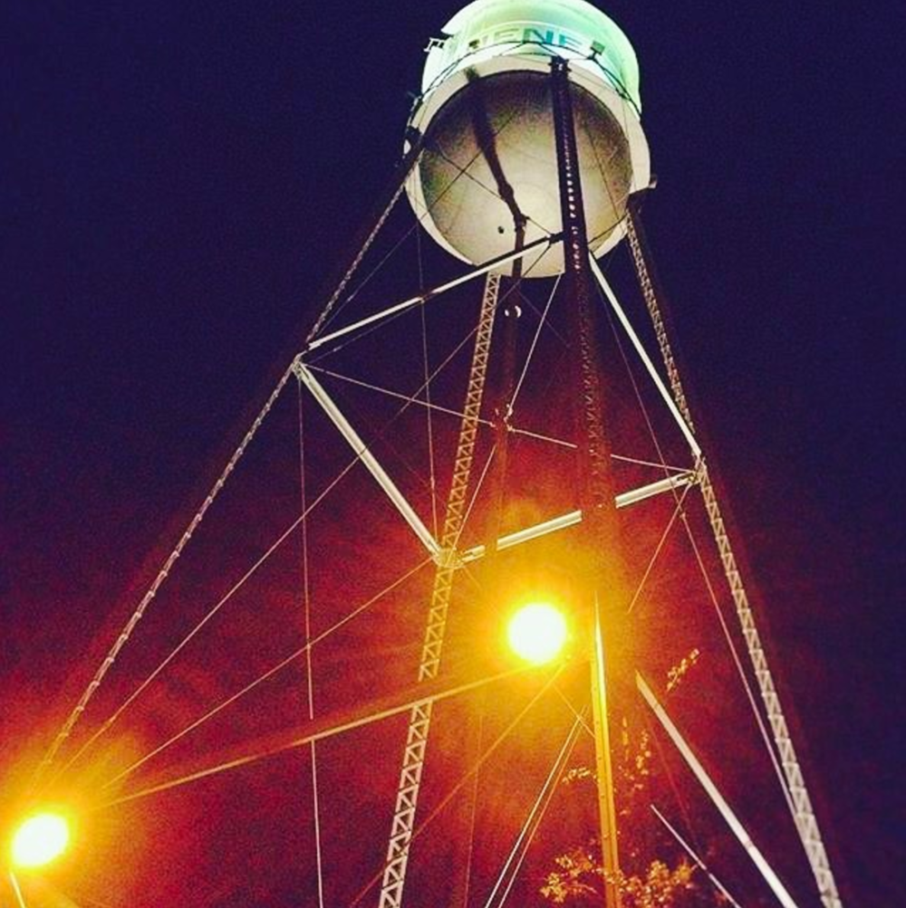 Standing tall in Gruene Texas, great little town with cool people and amazing food!