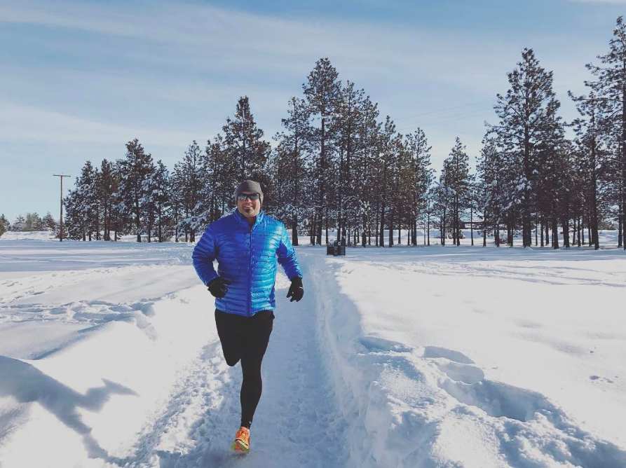Nothing like a brisk run on a bright sunny day in the newly fallen snow of Central Oregon!