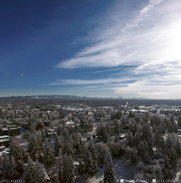 Nice Shot over Bend Oregon.