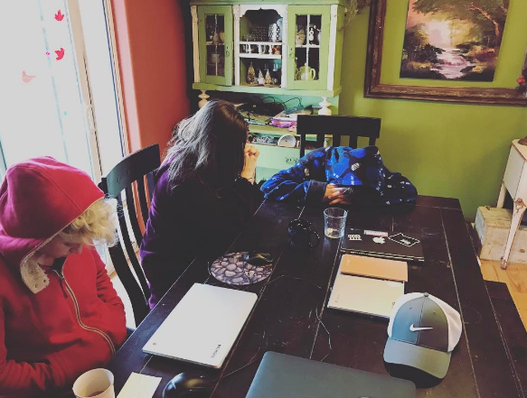 As an entrepreneur, I get the incredible privilege of working with my wife and kids. Every Monday we spend time praying over each our business endeavors, prayer is powerful.