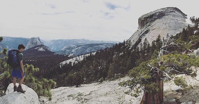 The harder the climb the better the view. . My 14 year old @owen_behnke_ near the summit of clouds rest in @yosemitenps . #cloudsrest #yosemite #yosemitenationalpark #halfdome #hike #backpack #parenting #pnw #pnwonderland #entrepreneurlife #behnkeadventures #goodlife #liveauthentic #welltravelled #exploretocreate  #stayandwander  #lifeofadventure #wildernessculture #Lifestyle  #adventurevisuals #ig_mood #afterlight #chasinglight #500px #letsgosomewhere #portraits_ig  #folkvibe #exploreeverything #wanderfolk #quietthechaos