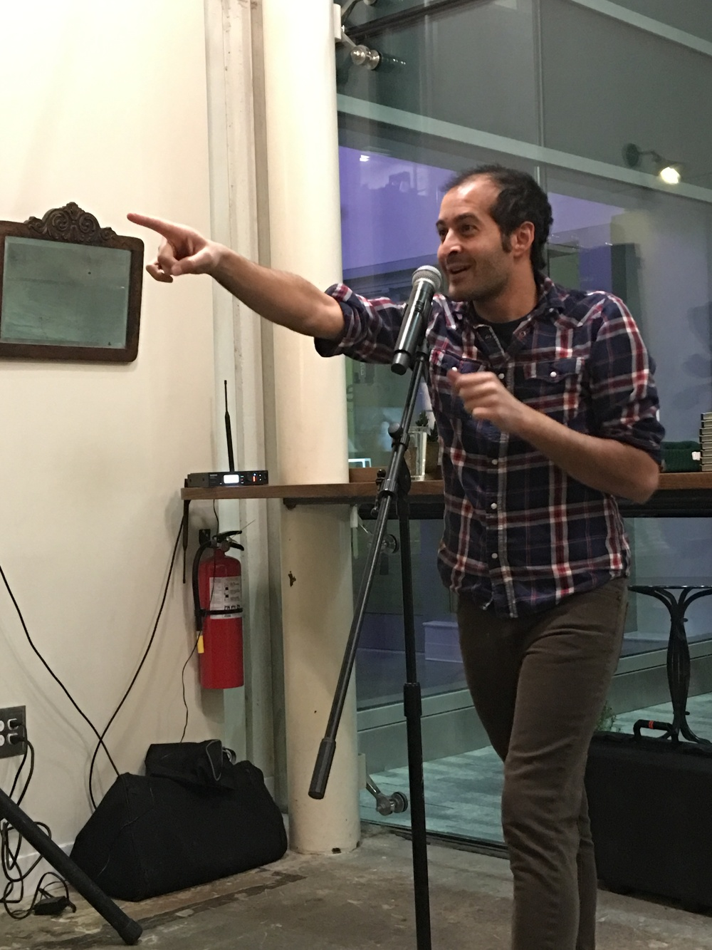 An Evening with Anis Mojgani