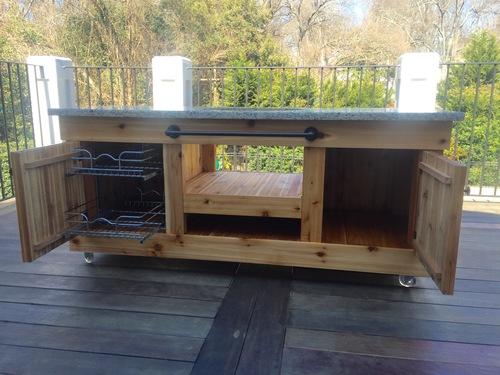 Big Green Egg Table Base — Reedy River Design