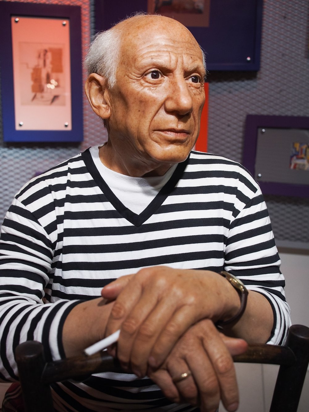 Pablo Picasso, a life long learner.