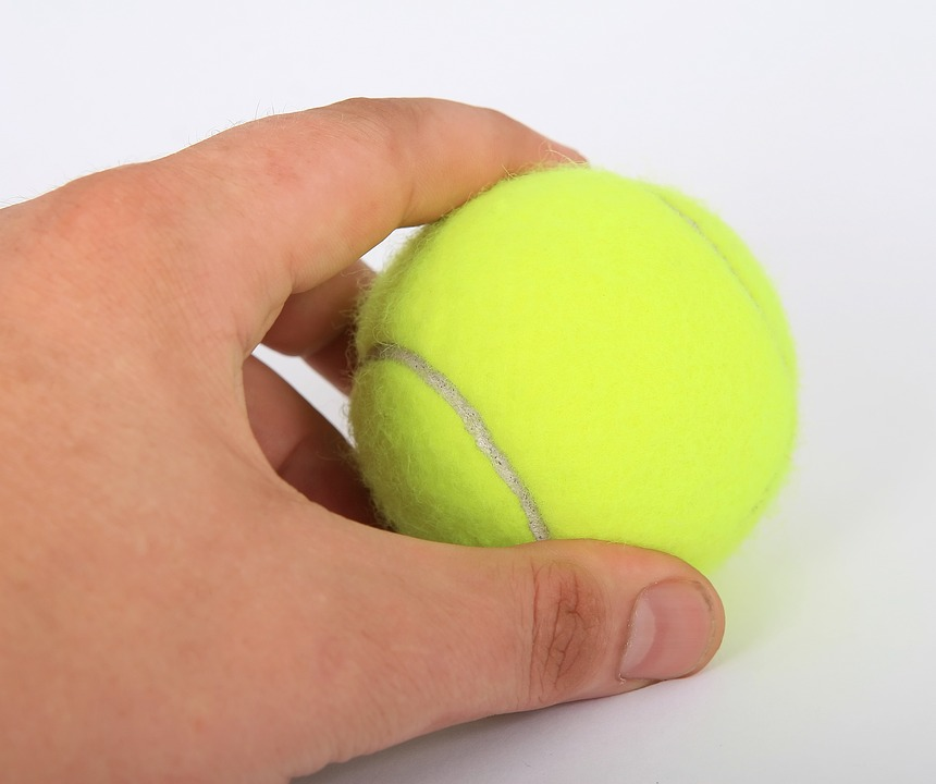 2.  Tennis balls for massage!