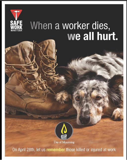 Safe Work Manitoba Poster