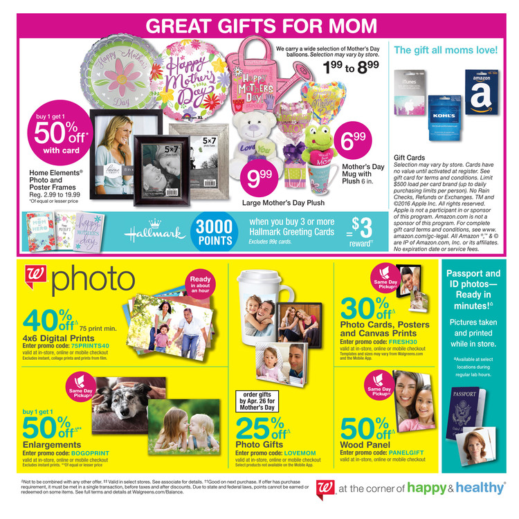 Walgreens National Coupon Book (dog lower left)