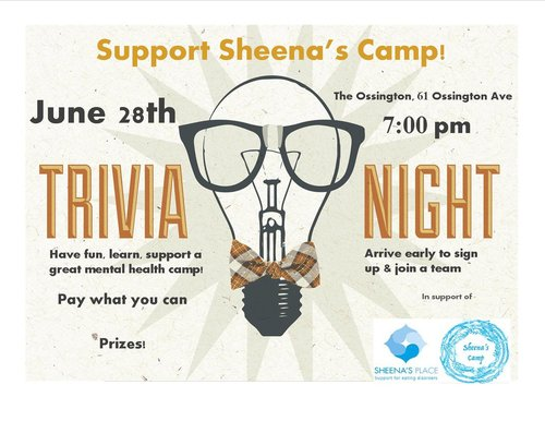 Sheena's Place Trivia Night Fundraiser @ The Ossington