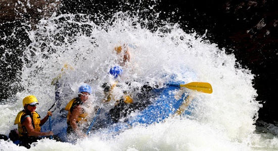 Book your White Water Rafting trip in Kolad Online