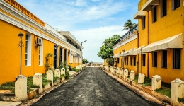 Pondicherry French town
