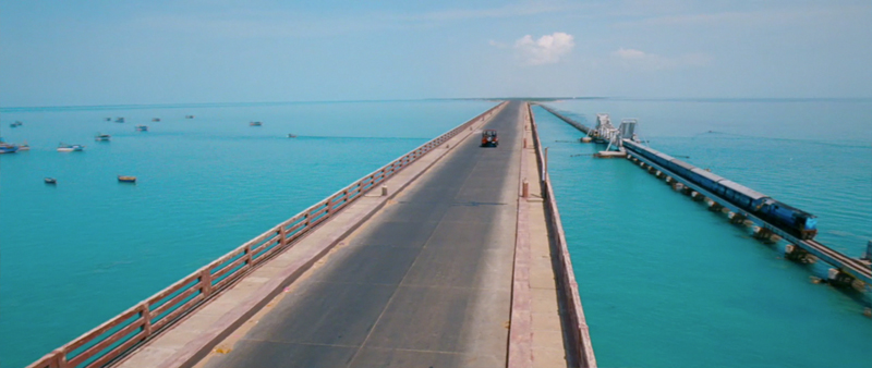 Pamban Bridge, Rameshwaram Island
