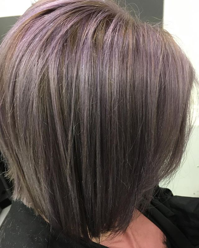 New L'Oreal Majirel metallic colour! Done by Samantha @trimmershairdressers #majirelmetallics