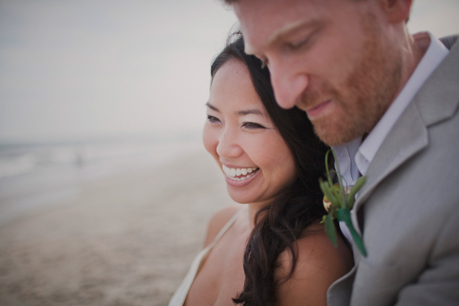 Cape May beach wedding photography