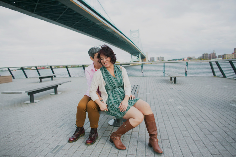 Philadelphia Same Sex engagement photography