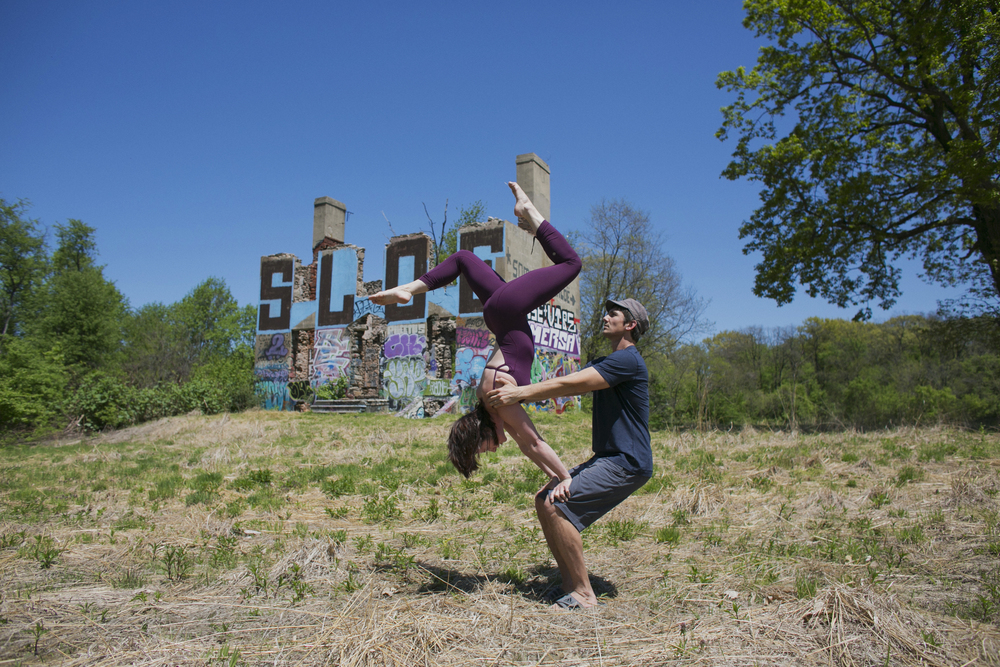 Philadelphia Acro Yoga Photographer