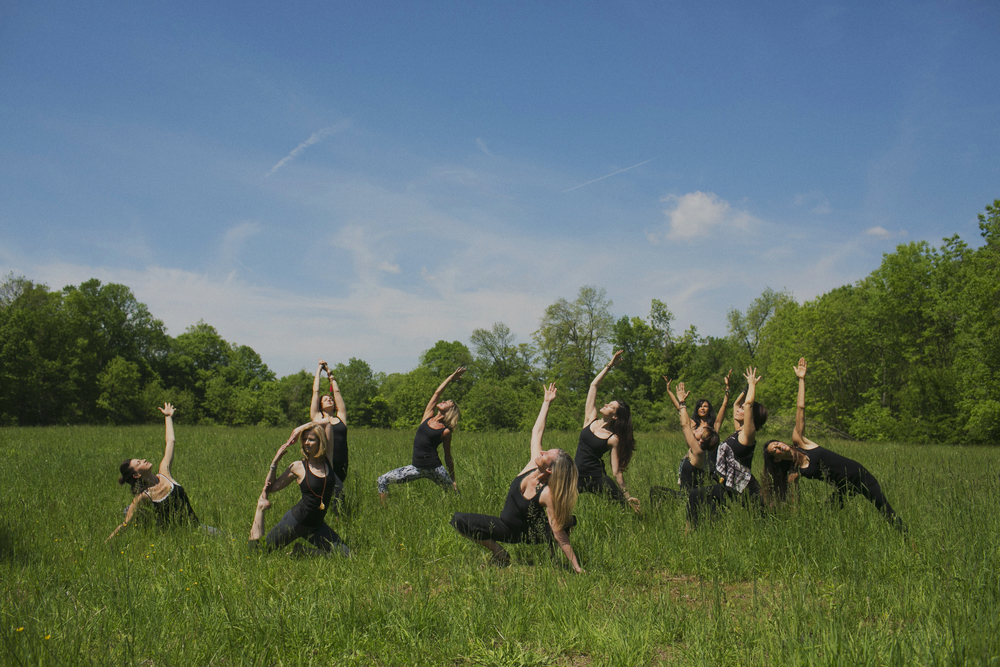 Bucks County Yoga Photographer