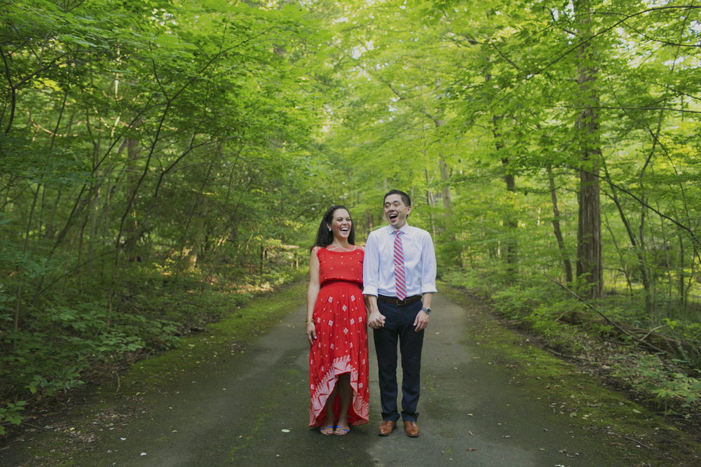 New Hope engagement photography