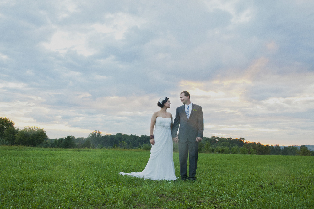 Doylestown backyard wedding
