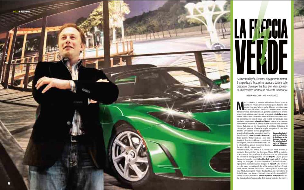 Gentleman Italia - Tesla 1st italian Store Launch, Milan 2011