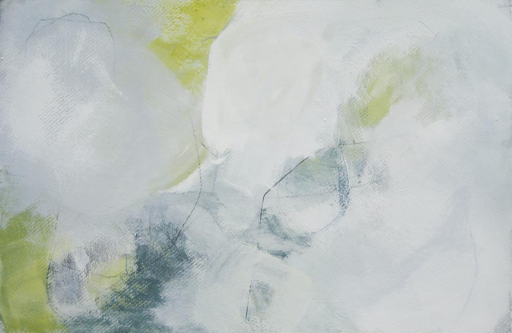 Bild Nr. 003, o.T., Acryl/Graphit/Ölkreide/MDF, 2012, 65x100cm _verkauft