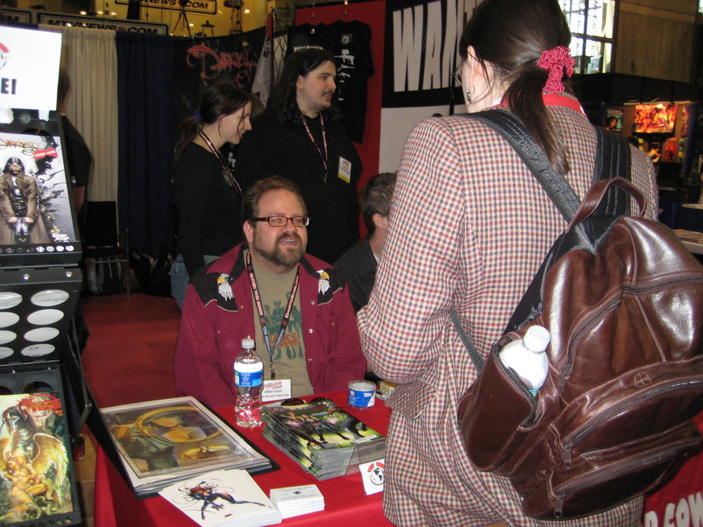 Top Cow Booth Signing
